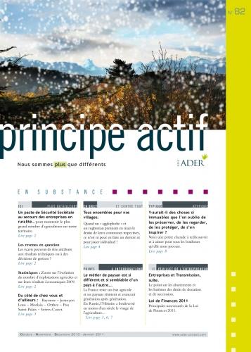 PRINCIPE ACTIF N°82